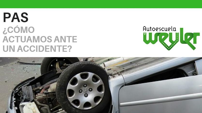 ¿Cómo actuamos ante un accidente de tráfico?