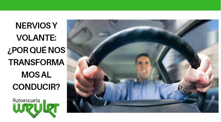 Nervios y volante: ¿por qué nos transformamos al conducir?
