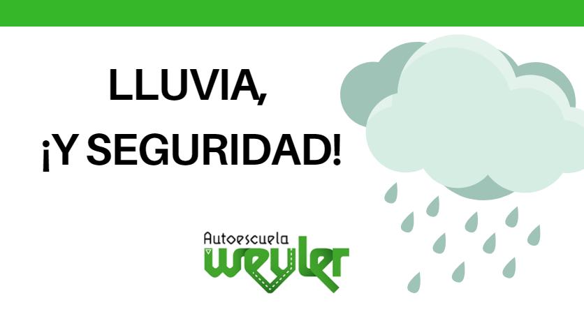 10 consejos para conducir seguros con lluvia