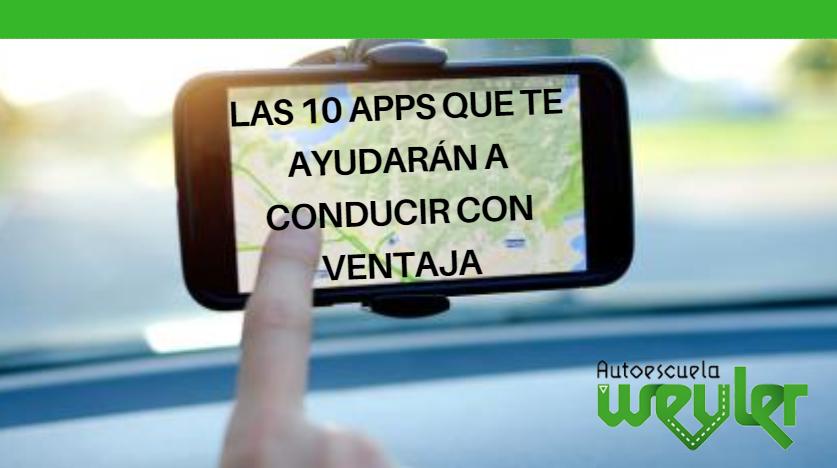 Las 10 Apps que te ayudarán a conducir con ventaja