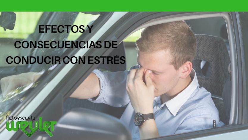 Efectos y consecuencias de conducir con estrés