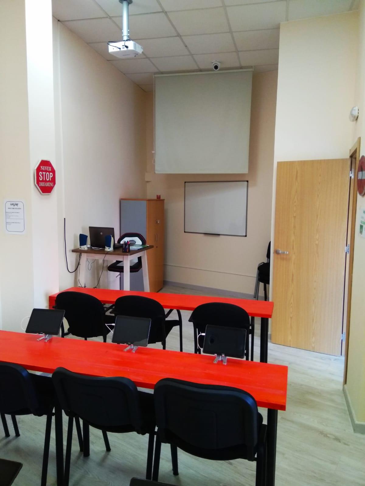 proyector aula