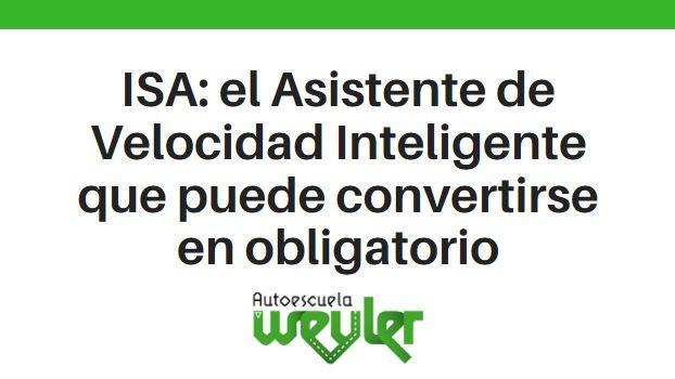 ISA: el Asistente de Velocidad Inteligente que puede convertirse en obligatorio
